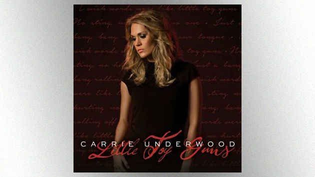 """Carrie Underwood Releasing """"Little Toy Guns"""" Single and Video Friday"""