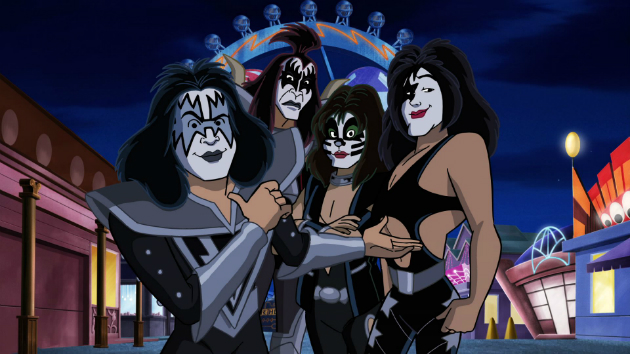 KISS Teaming Up with Scooby-Doo in New Full-Length Animated Film