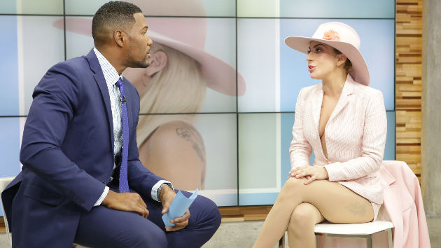 "Lady Gaga Talks Super Bowl, Family & FLOTUS on ""Good Morning America"""