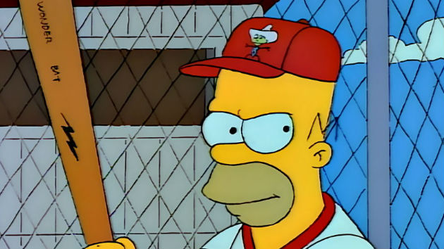 Homer Simpson inducted into Baseball Hall of Fame