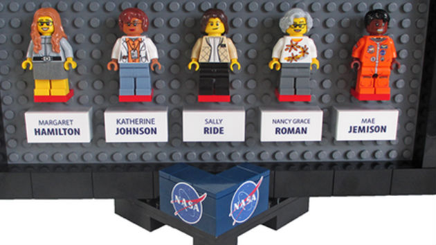 NASA's women space pioneers inspire new Lego set