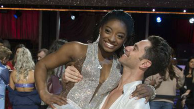 """Dancing with the Stars"" Season 24 Premieres, Simone Biles Takes an Early Lead"