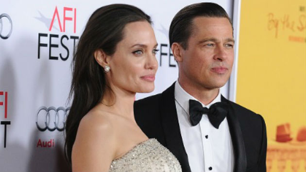 """Brad Pitt and Angelina Jolie reportedly """"talking again"""""""