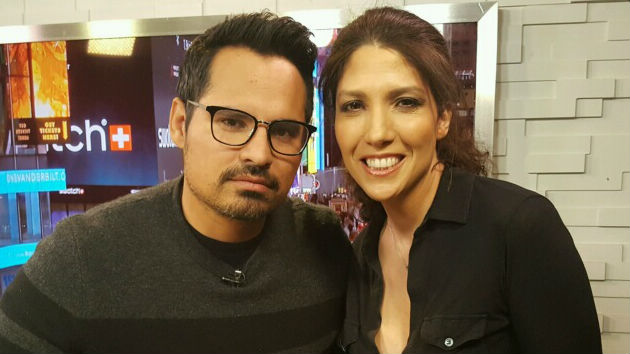 "Michael Pena lays his ""CHIPS"" on the table, hides ""Ant-Man 2"" cards"