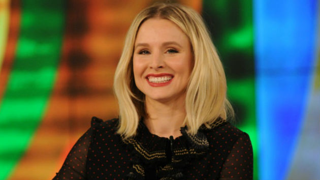 Kristen Bell is first-ever host of the SAG Awards