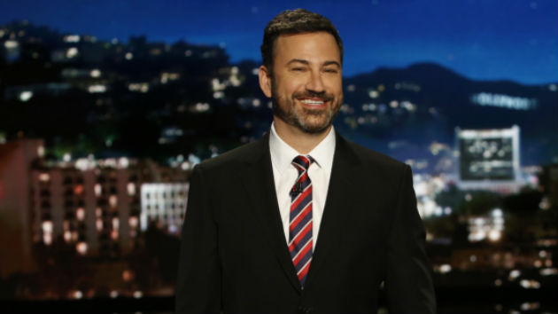 "Jimmy Kimmel's 3-month-old son ""doing great"" after open-heart surgery, shares 1st photo since emotional monologue"