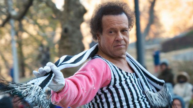 Richard Simmons hospitalized in California, battling severe indigestion