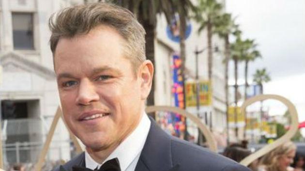 Matt Damon helps Jimmy Kimmel make fun of United Airlines