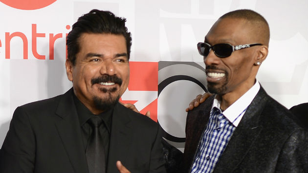 """D.L. Hughley and George Lopez honor Charlie Murphy by getting """"darkness"""" tattoos"""