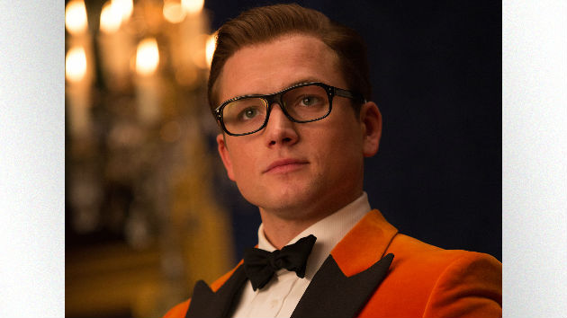"Manners maketh man: Taron Egerton says ""gracious"" stars of ""Kingsman"" helped him"