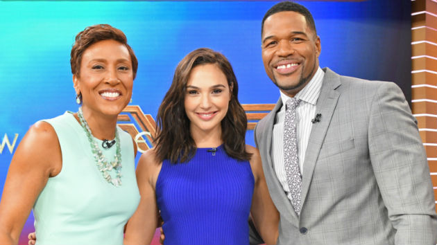 "Wonder Woman star Gal Gadot says it's ""really magical"" to inspire youth with ""strong female figure"""