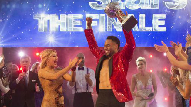 "And the ""Dancing with the Stars 24"" winner is... Rashad Jennings!"