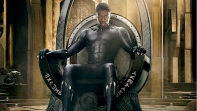 """""""Black Panther"""" roars; scores fifth-largest debut of all time with $201.8 million weekend"""