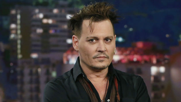 At British appearance, Johnny Depp jokes about assassinating president