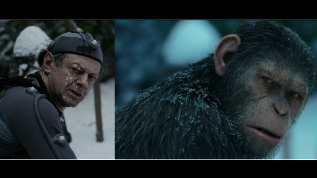 """Hail Caesar! Andy Serkis and Steve Zahn go to war in """"Planet of the Apes"""""""