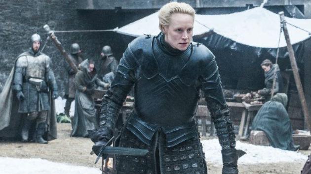 Gwendoline Christie as Brienne of Tarth - HBO/Helen Sloane