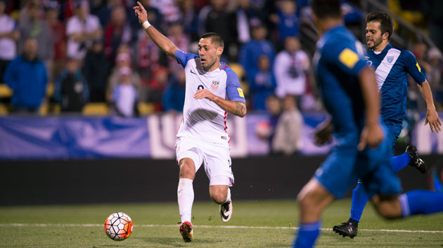 Clint Dempsey ties U.S. men's goal-scoring record