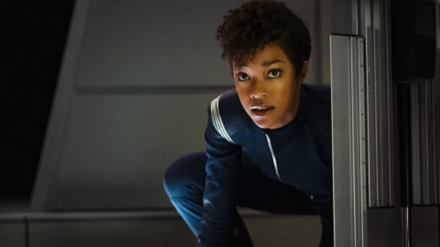 """Star Trek: Discovery"" hits warp speed Sunday night"