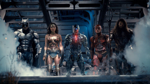 'Justice League' and 'Wonder' among this week's new releases