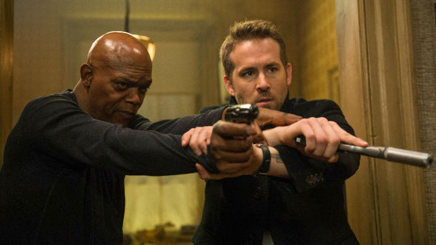 """The Hitman's Bodyguard"" snuffs the competition with $21.6 million box office weekend"