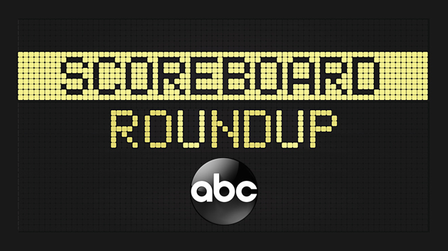 Scoreboard roundup -- 8/18/17