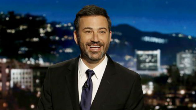 """Pranks, blank faces, and Stevie Wonder: Thursday night's """"Jimmy Kimmel Live!"""" was a """"Scandal"""" send-off"""
