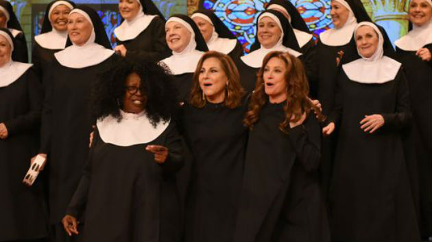 "Whoopi Goldberg talks ""Sister Act 3"" as cast reunites on ""The View"" 25 years later"