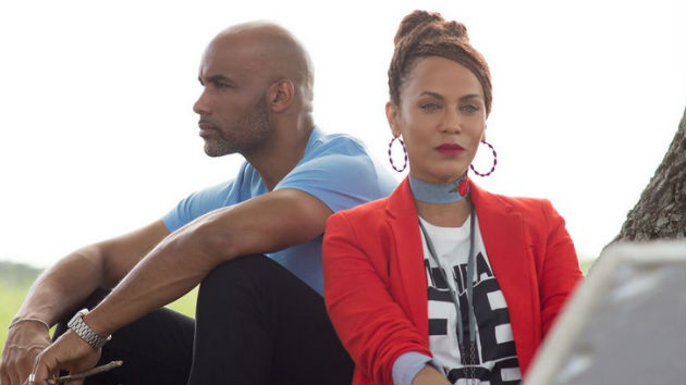 "Boris Kodjoe and Nicole Ari Parker share their ""Downsized"" thoughts on marriage"