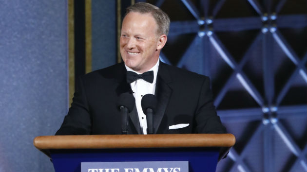 "Sean Spicer on his surprise Emmys appearance: ""It's an honor"""