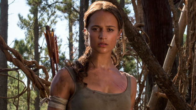 "First Look: Alicia Vikander as Lara Croft in ""Tomb Raider"" reboot"