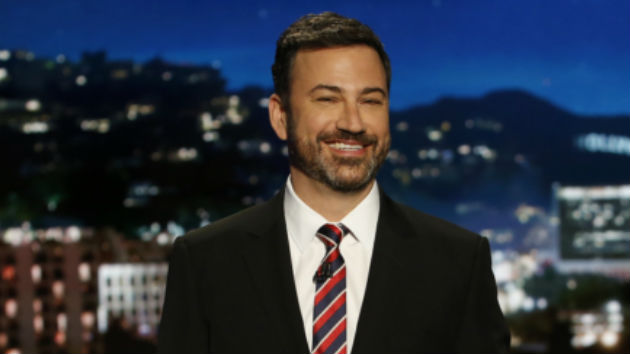 "'Jimmy Kimmel Live!' pays ""tribute"" to the halfway point of Donald Trump's first term in office"