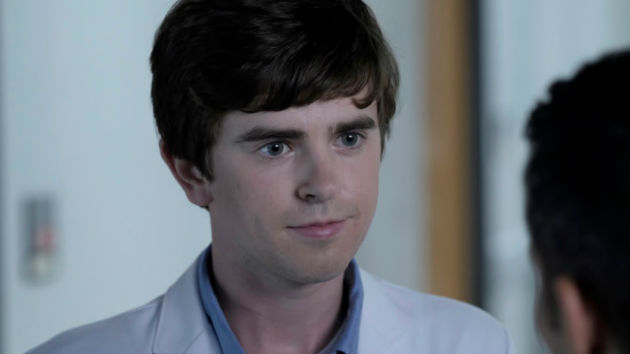 """'The Good Doctor' star Freddie Highmore says writing the season-two premiere was """"a huge honor"""""""