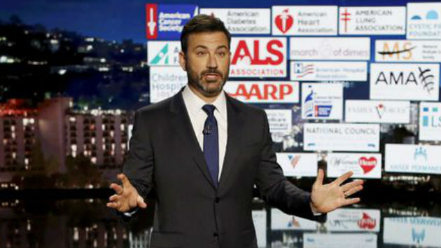 "Jimmy Kimmel returns to health care debate: ""If someone has to keep telling you something is a disaster, it probably isn't one"""