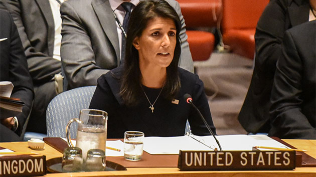 UN Ambassador Nikki Haley reprimanded for political tweet