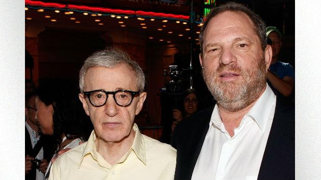 "Woody Allen says he's ""sad"" for Harvey Weinstein, later clarifies"