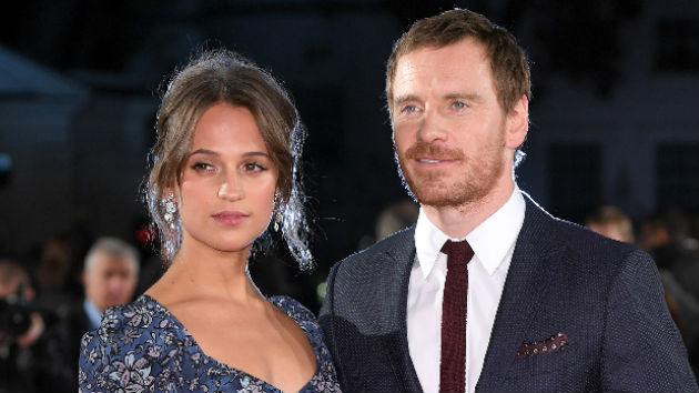 Michael Fassbender and Alicia Vikander reportedly get hitched in Ibiza