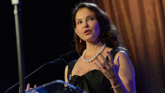 Ashley Judd speaks to ABC's Diane Sawyer about Harvey Weinstein on Thursday