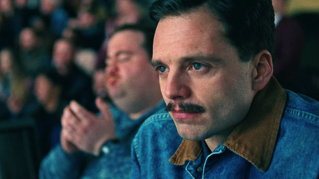 "Sebastian Stan ""excited"" about the response to ""I, Tonya""; his mustache in it, not so much"
