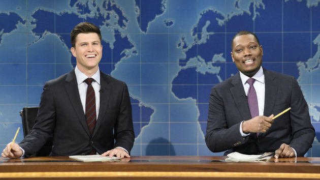"SNL ""Weekend Update"" anchors Colin Jost and Michael Che named co-head writers"