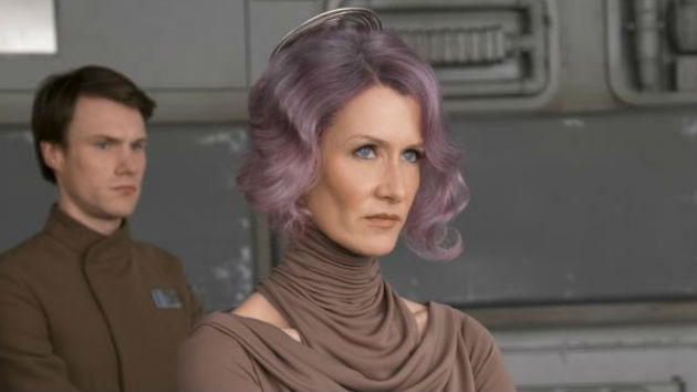 "Laura Dern didn't realize director Rian Johnson wanted to cast her in ""Star Wars: The Last Jedi"""