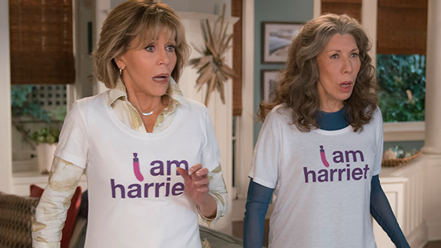 'Grace & Frankie' goes live for COVID-19 relief