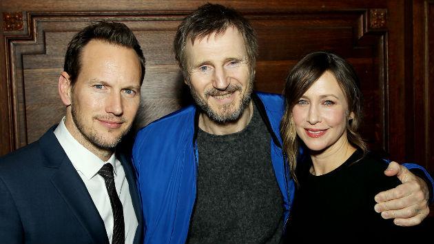 Pictured: Patrick Wilson, Liam Neeson, Vera Farmiga -Photo by: Marion Curtis / StarPix for Netflix