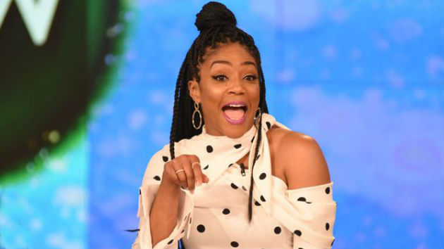 Tiffany Haddish steals the scene -- even reading Oscar nominations