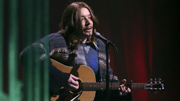 """Jimmy Fallon channels James Taylor in """"Fire and Rain"""" parody called """"Fire and Fury"""""""