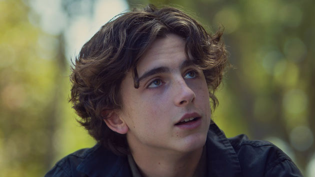 """Call Me By Your Name"" & ""Lady Bird"" star Timothee Chalamet donates salary from Woody Allen movie to Time's Up and other organizations"