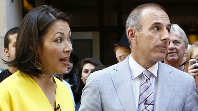 "Ann Curry Speaks: ""Not surprised"" By Matt Lauer Allegations"