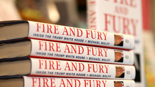 "Michael Wolff's ""Fire and Fury"" may be heading to TV"