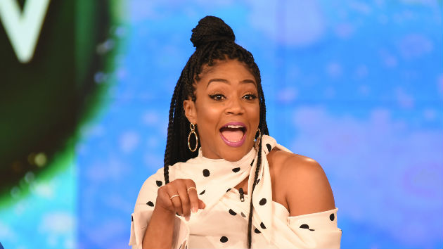 Tiffany Haddish cries after meeting Oprah Winfrey