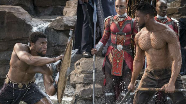 """Chadwick Boseman and Michael B. Jordan explore the lessons learned in """"Black Panther"""""""