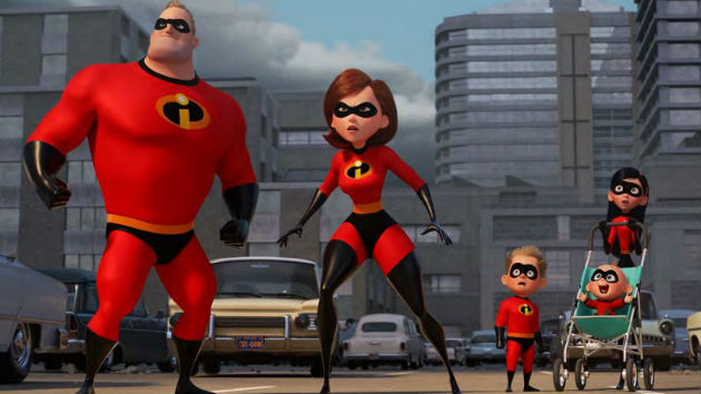 """Incredibles 2"" tops the weekend box office with record-breaking $180 million debut"